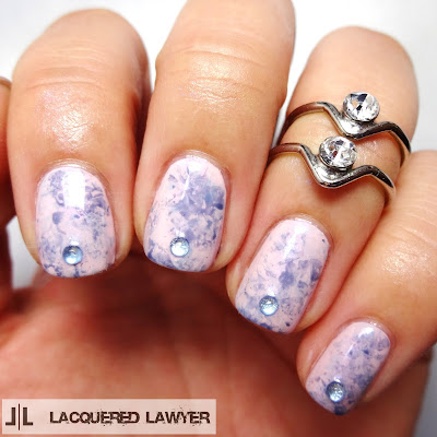 Lacquered Lawyer Nail Art Blog Acid Washed Angel