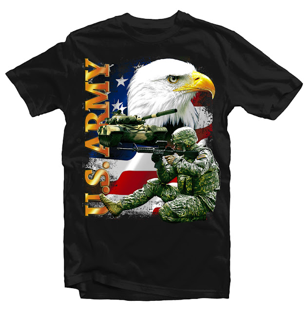 us army tshirt design