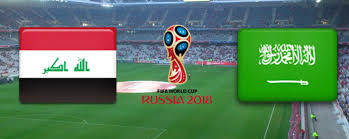 match Iraq vs saudi