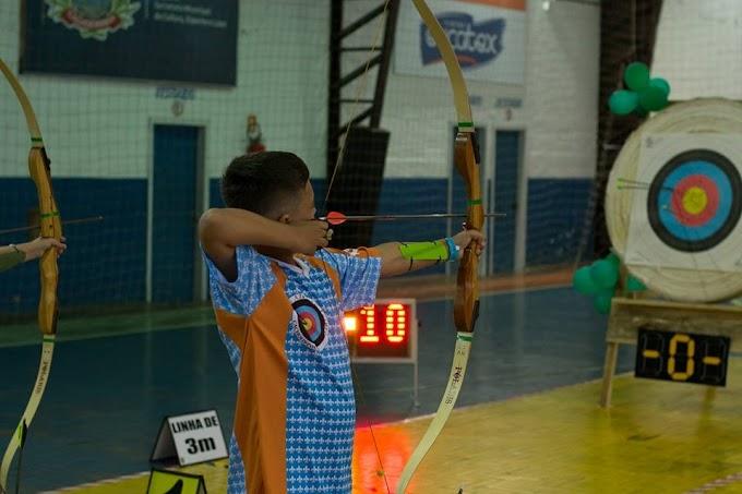 CACHOEIRINHA | Sábado foi dia de Arco e Flecha no Centro Multiuso Neuri Jandrey dos Santos