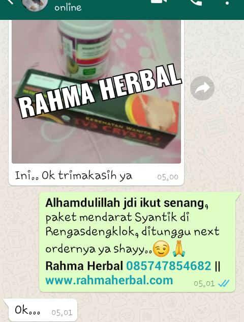 Paket Pengiriman Rahma Herbal ke Rengasdengklok