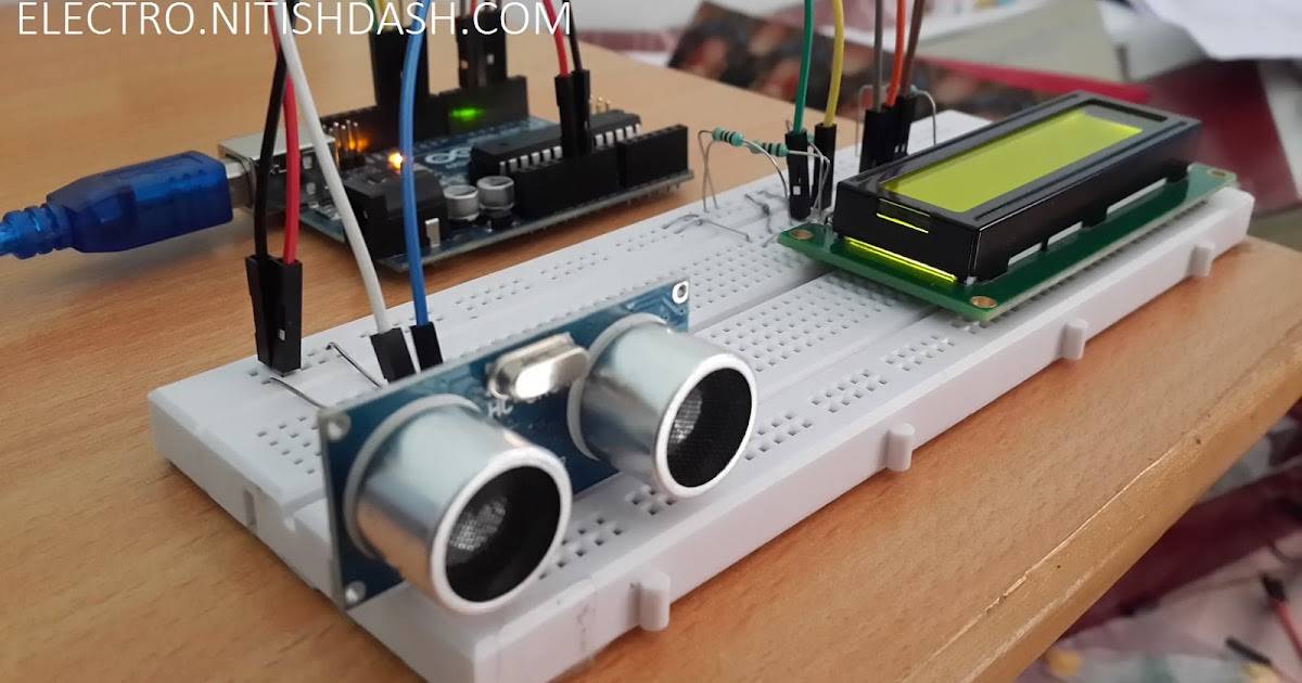 Interfacing Pic18f4550 Microcontroller With Hcsr04 Ultrasonic Sensor