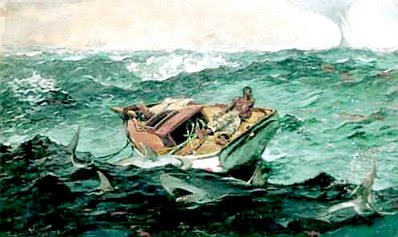 Winslow Homer: The Gulf Stream