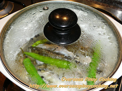 Paksiw na Biya - Cooking Procedure