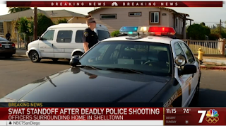 1 San Diego Police Officer Shot, Killed in Line of Duty, Second Seriously Wounded