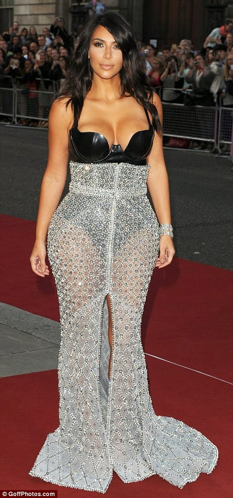 Kim Kardashian at 2014 Woman of the Year GQ Awards photo 1