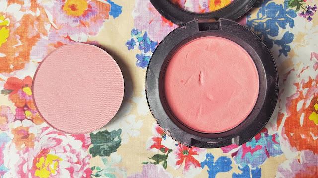 Beauty | Makeup Geek Blush Pan in Head Over Heels