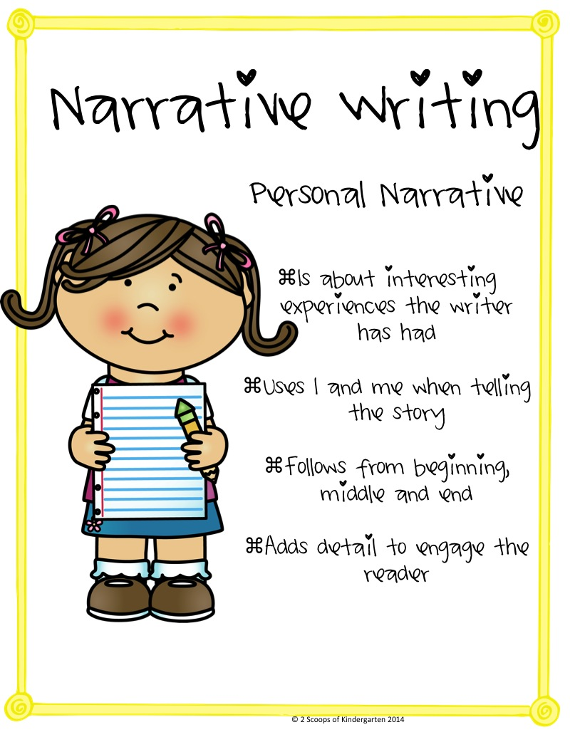 Kindergarten narrative writing prompts