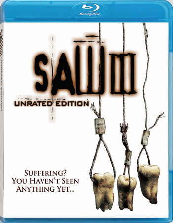 Poster Of Saw III 2006 English 350MB BRRip 480p Free Download Watch Online