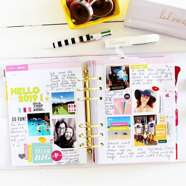 Heidi Swapp Color Fresh Memory Planner