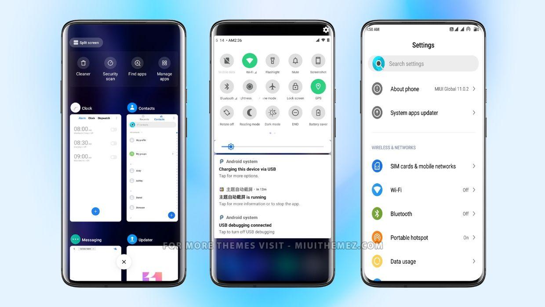 OnePlus Oxygen OS Theme for Xiaomi Phones