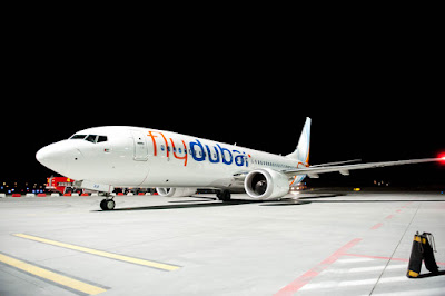 Boeing 737 MAX 8, A6-MAX, flydubai