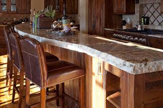 Amazing Chiseled Edge Granite Countertops Rock!