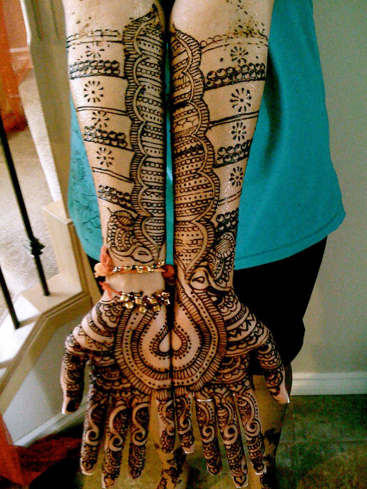 Only Women Secrets: 10+ Most Stylish Arms Mehndi Designs