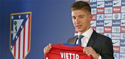Transfer:Barcelona agree deal to sign Luciano Vietto from Atletico Madrid