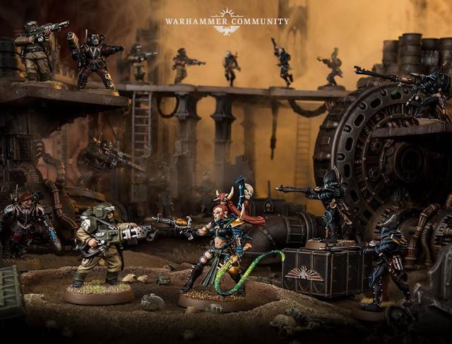 Kill Team Astra Militarum vs Drukhari