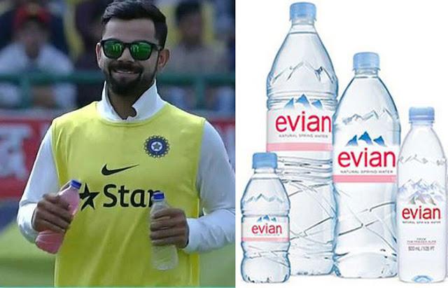 600 रुपए लीटर का पानी पीते हैं विराट कोहली! - newsonfloor.com