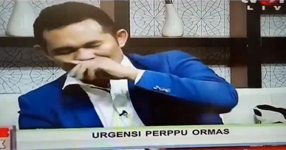 Alamak !! di Duga Efek Nyabu, Boni Hargens Terlihat Seperti Sakaw, Live TV One Pun di Hentikan