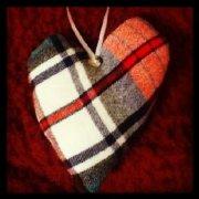 Papa's heart ornament