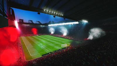 PES 2016 Smokebomb Old Trafford and Camp Nou Stadium