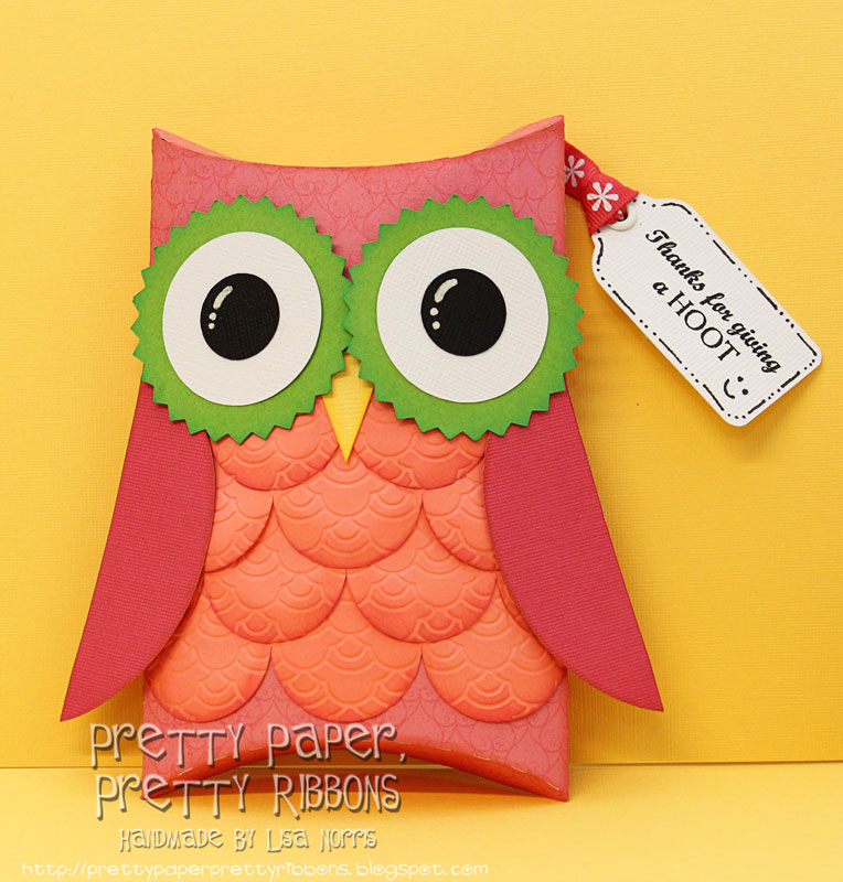 Owl pillow boxes crafthubs pretty paper pretty ribbons owl pillow box cameo pronofoot35fo Images