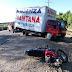 Mueren padre e hija al chocar motocicleta con un camión en Navarrete