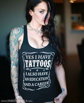 10 Most Beautiful Girls With Tattoos