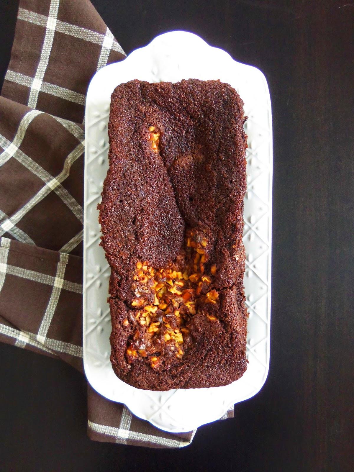 Simply Romanesco Chocolate Loaf Cake