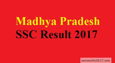 Madhya Pradesh MPBSE SSC Result 2017