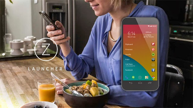 Z Launcher, Z Launcher for Android, Nokia Launches Z Launcher, home screen replacement, Android, Nokia, mobile, software,
