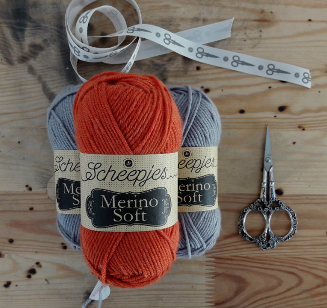 Scheepjes Merino Soft | Happy in Red