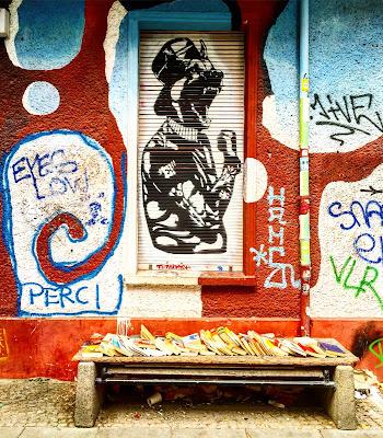 Le Chameau Bleu - Street Art - Voyage à Berlin Allemagne