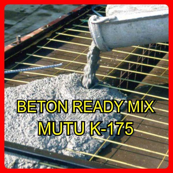 harga beton jayamix k 175