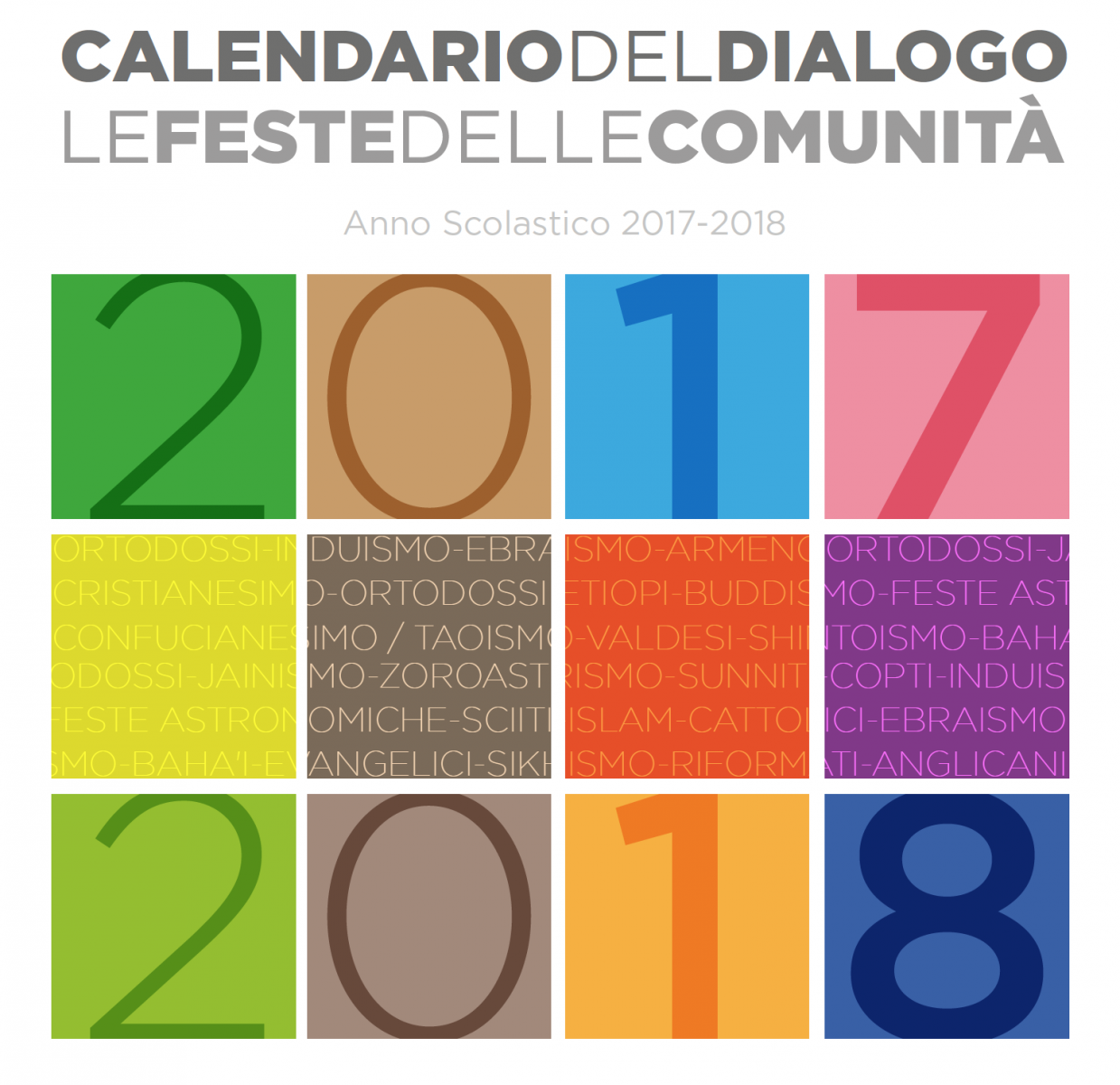 Calendario Islamico E Feste Islamiche.Scuola Primaria Preseglie Bs Calendario Del Dialogo Le