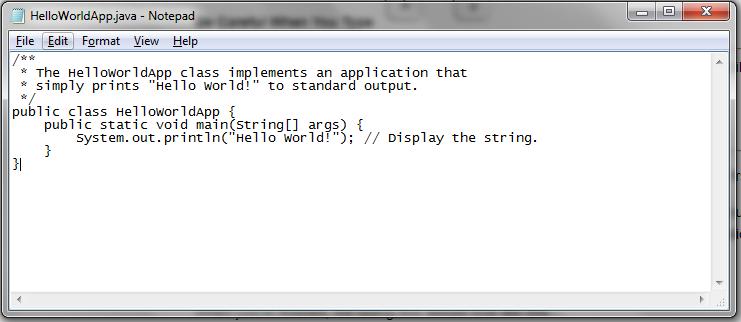 Java Programming Language - Getting Started