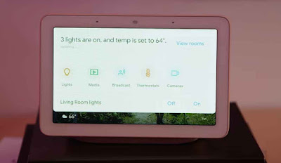 Google Home Hub Dashboard