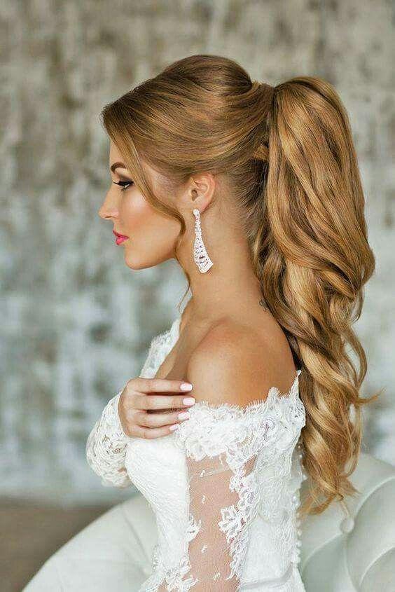 Ideias De Cabelo Semi Preso Para Noivas Noiva Com Classe