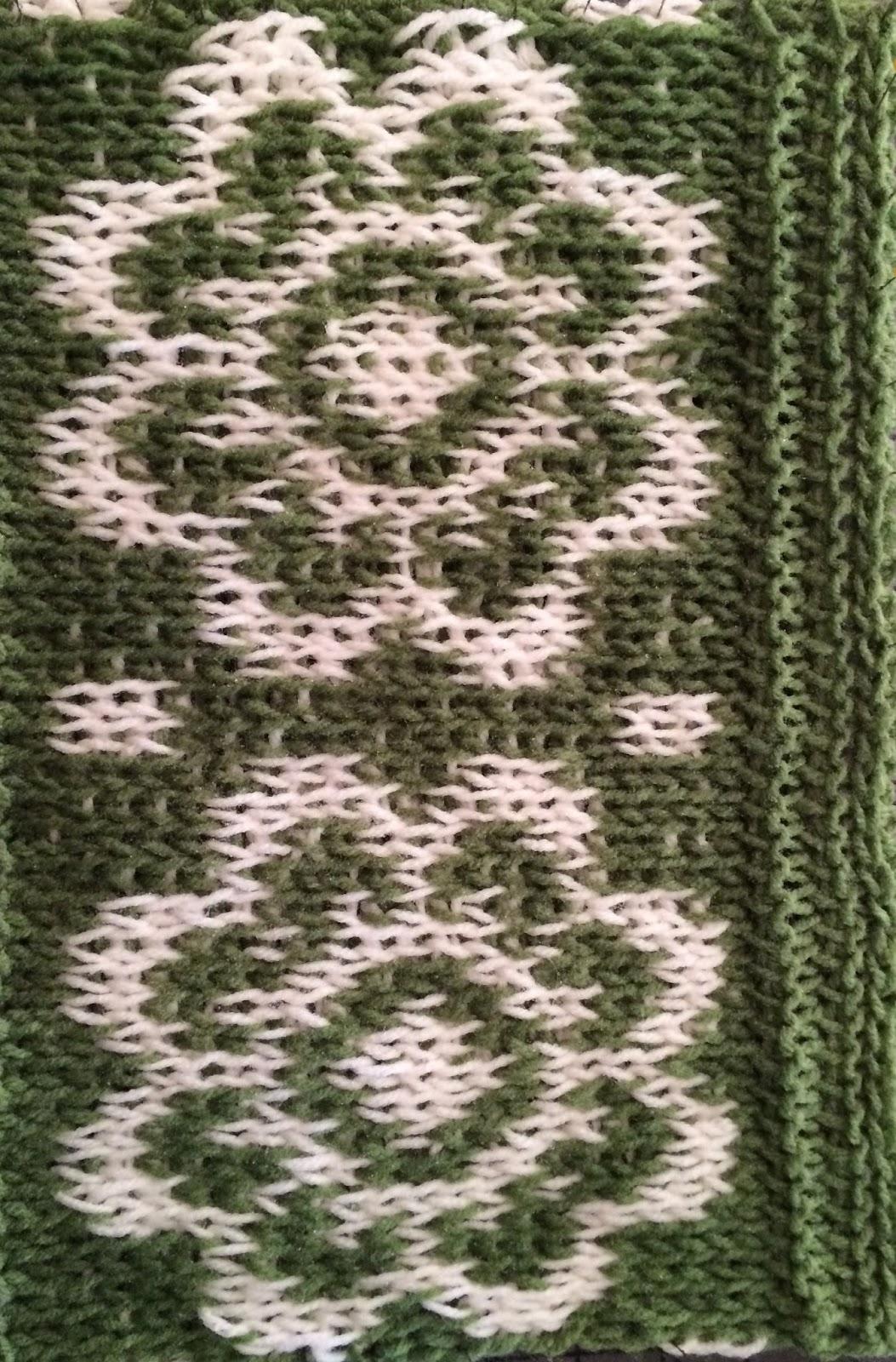 Banana Moon Studio : Crochet Book Review: Fair Isle Tunisian Crochet
