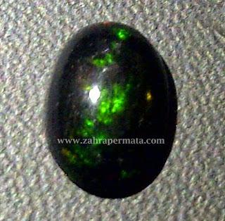 Batu Permata Black Opal Kalimaya - ZP 318