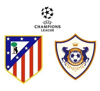 Atletico Madrid vs Qarabag match highlights
