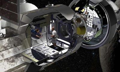 Primera mostra del mòdul per permetre als astronautes viure en missions a l'espai profund