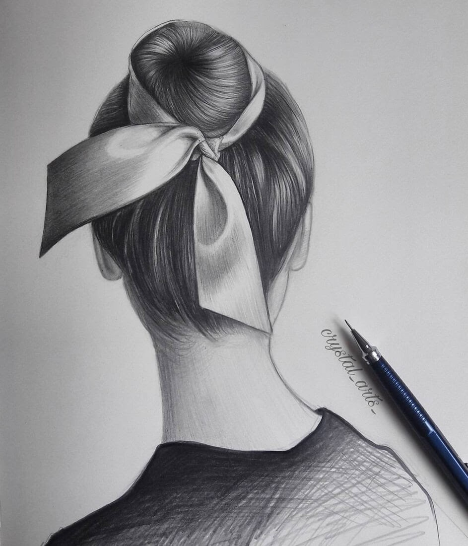 10-S-Mutlu-Hair-Study-Portrait-Drawings-www-designstack-co