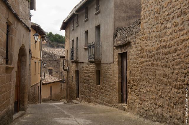 Uncastillo visitar las Cinco Villas Zaragoza