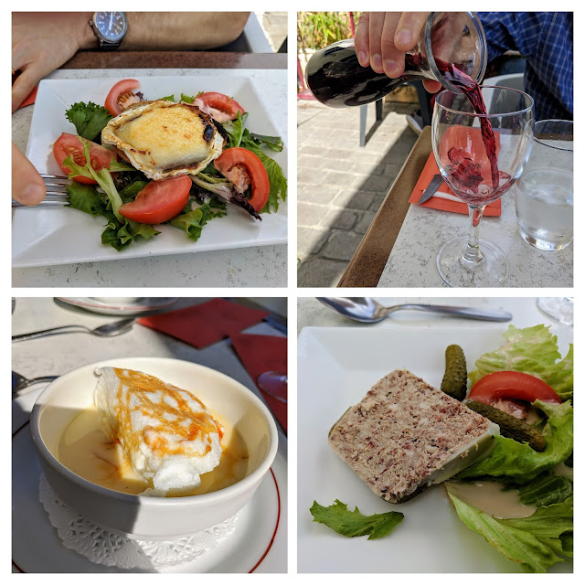 Medoc France: Lunch in Pauillac