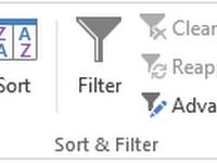 fungsi filter pada excel 2010