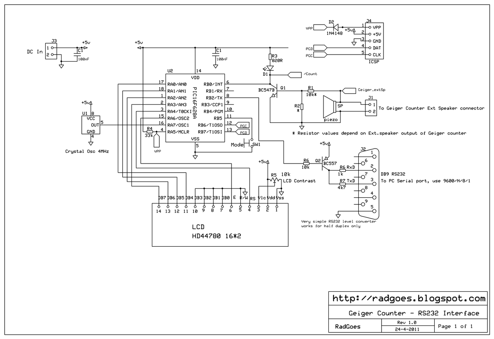 Radiation In Goes Zeeland Nl Geiger Counter Schematic Diagram Computer Here Is The Drawing Click On Image To View Full Size Or Save As