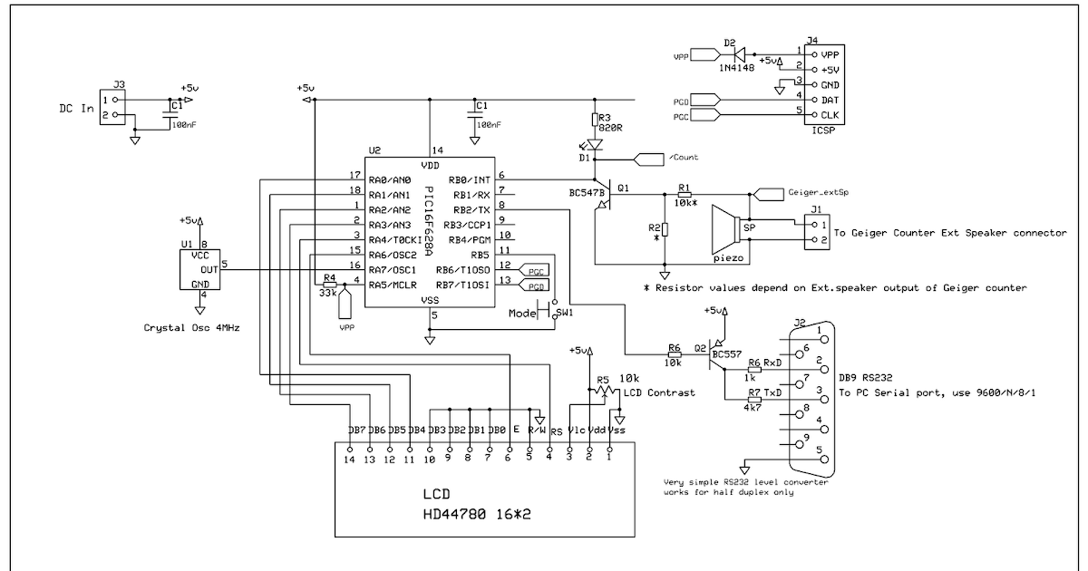 Geiger Counter Wiring Diagram - Wiring Diagram All on telephone circuit schematic, tesla coil circuit schematic, metal detector circuit schematic, geiger counter circuit board,