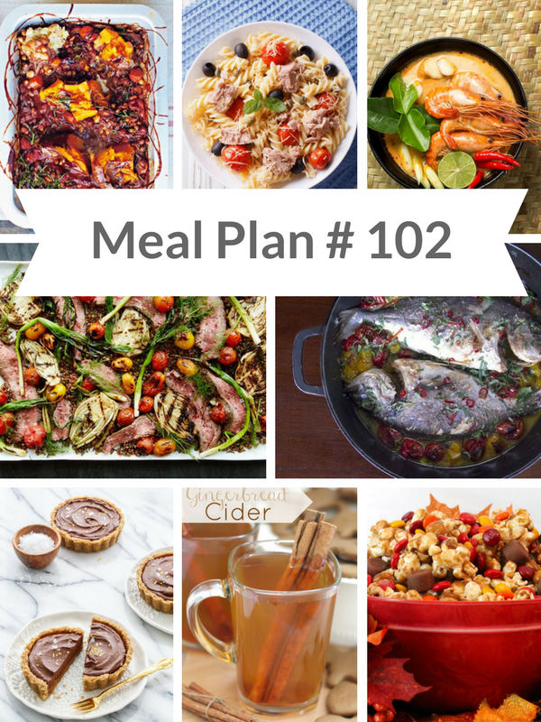 Ready made Weekly Meal Plan #102 - Ioanna's Notebook