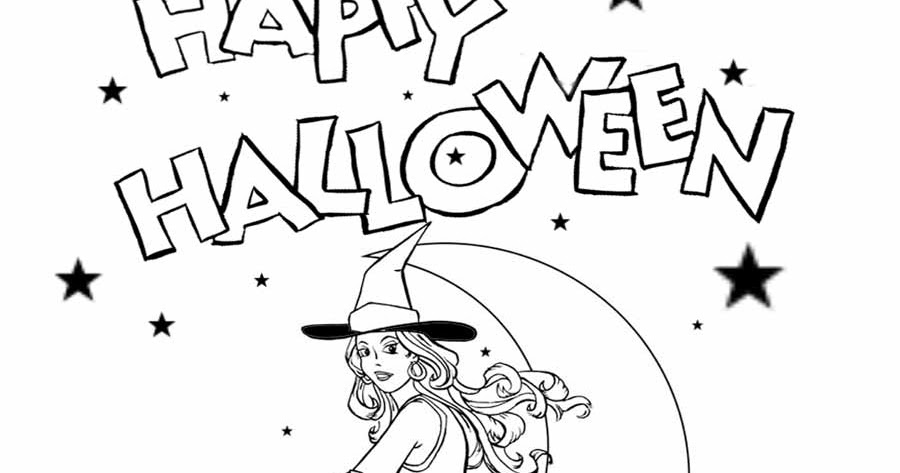 LETS COLORING BOOK: Free Halloween printable pictures for