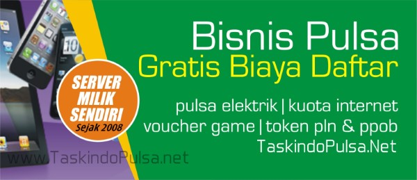TaskindoPulsa.net Web Resmi Server Taskindo Pulsa Termurah Jabar Jawa Barat